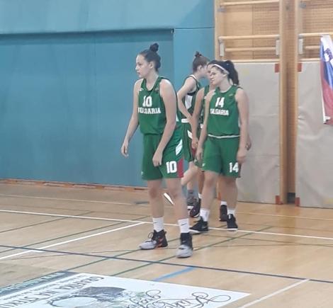 България U14 с нови две загуби на Словения бол