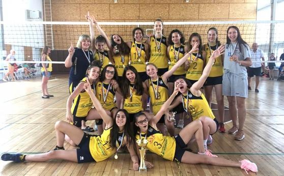 Волейболистките на Марица шампион за момичета U13