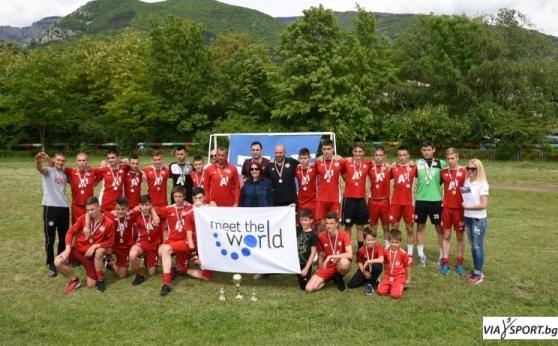 ЦСКА (2004) в група с три шведски отбора на Купа Готия