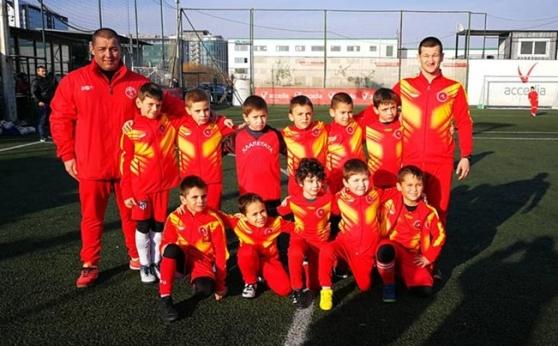 Хлапетата в една група с Левски на турнир в Сърбия
