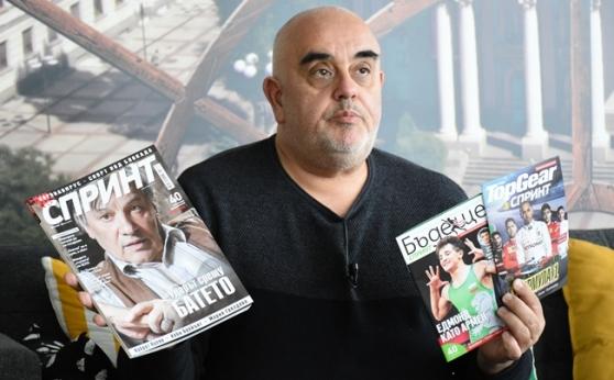 Николай Кръстев: Новият брой на СПРИНТ е капка добро настроение в сложното време (видео)