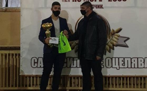 Валентин Андреев е №1 в клуба си за изминалата година
