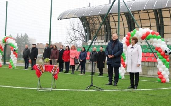 БФС откри официално нов футболен комплекс в Казанлък