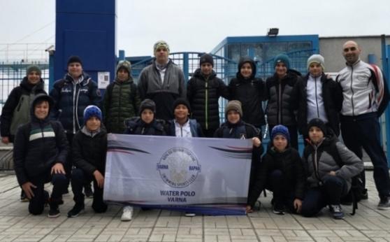 КПС Варна спечели финала на Топ 6 при 13-годишните ватерполисти