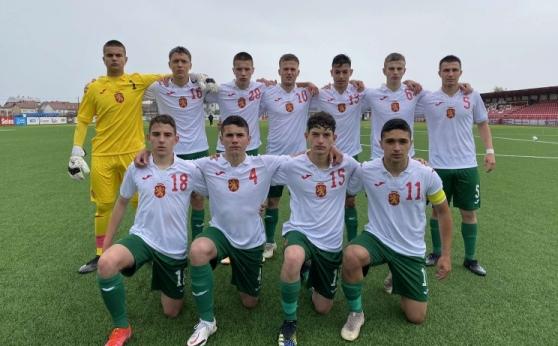 България U15 победи Северна Македония