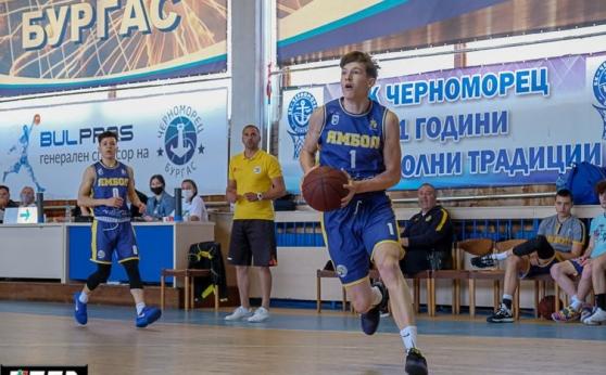 Баскетболист на Ямбол ще играе в дубъла на ЦСКА Москва