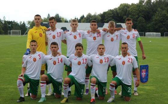 България U16 направи равен със Сърбия във втората контрола