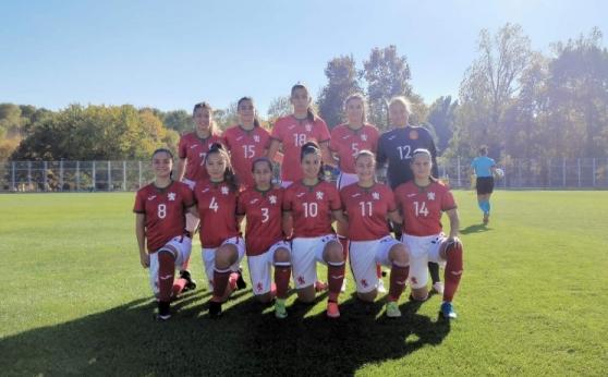 Националният тим за девойки до 19 г. стартира с разгромна победа в европейските квалификации