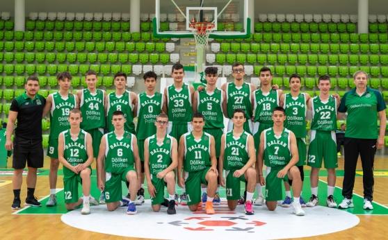 Загуба за Балкан U16 в първия мач от ЕМБЛ