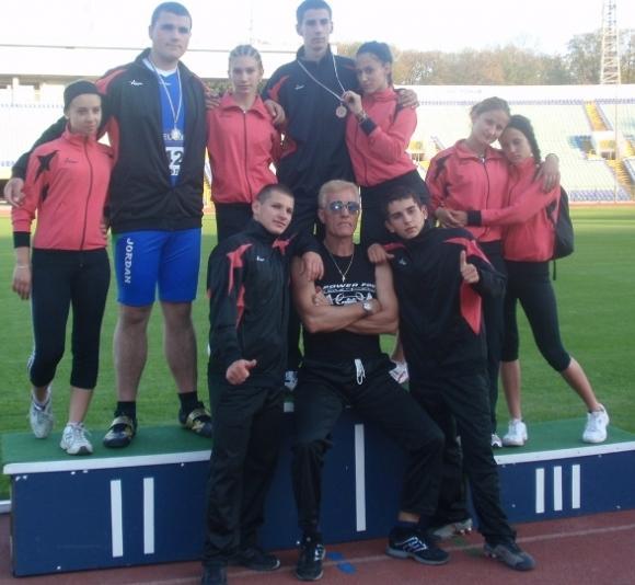 Джордан - Златен глас и златни атлети в Благоевград