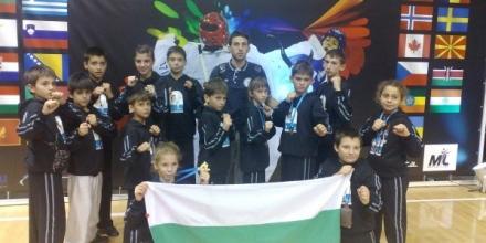 Състезатели на Чо Елит със злато в Сърбия