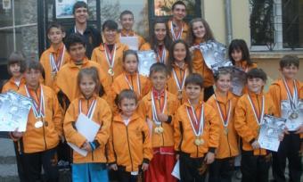 59 медала за пловдивчани от държавното по ушу