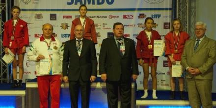 6 медала за самбистите ни от световното в Рига