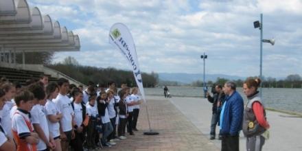 130 деца пробваха гребния ергометър в Пловдив