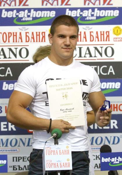 Грабежът на световното само амбицирал Боян Михайлов