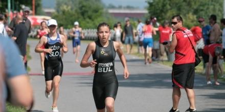 Стойнева 30-а на световното по триатлон