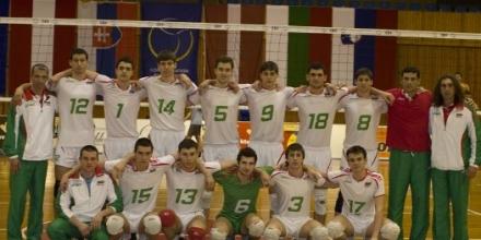 Тимът на Желязков непобедим в Словакия
