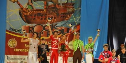 Руснаци доминираха на СK по акробатичен рокендрол