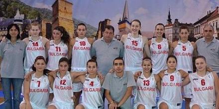 Девойките 12-и на европейското в Унгария