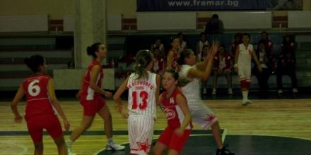 Завършиха зоните при баскетболистките (U14)