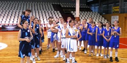 Варненки с титлата на баскетбол и при 12-годишните