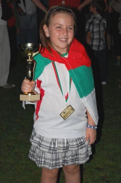 Нургюл Салимова – малката роза на българския шахмат
