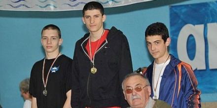 Димитров втори на турнир по плуване в Ларнака