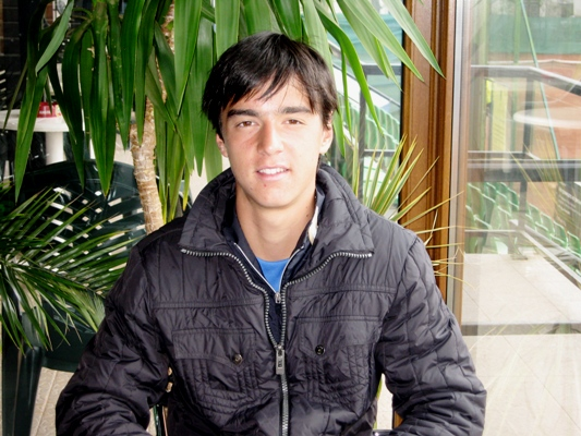 Димитър Кузманов: Мечтая да съм борбен като Надал