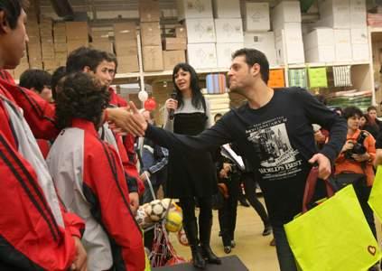 Наградиха дом за сираци със спортни уреди