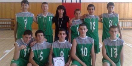 Ботевград с втора титла на баскетбол при учениците