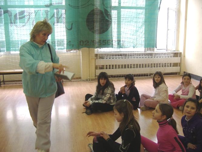 Eнтусиазъм цари в училищния салон на 88-о СОУ