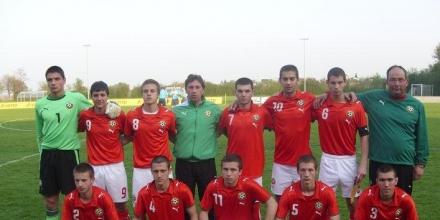 Юношите до 19 г. запазиха шансове за Евро 2012