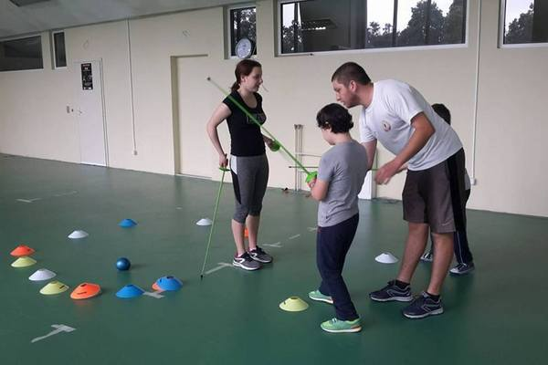 49a9a4755ba Слънчеви тренировки с деца със Синдром на Даун
