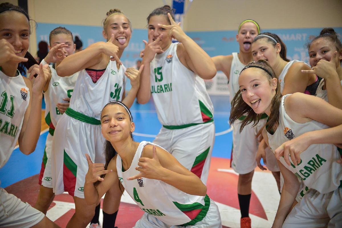 Резултат с изображение за баскетбол 19 годишни момичета България